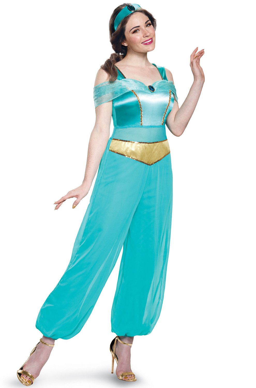 disney princess jasmine deluxe adult costume ebay. Black Bedroom Furniture Sets. Home Design Ideas