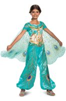 Jasmine Teal Deluxe Child Costume