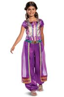 Jasmine Purple Classic Child Costume