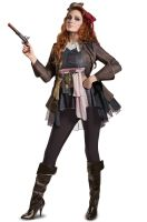 PotC5 Captain Jack Female Deluxe Adult Costume