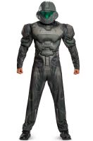 Spartan Buck Muscle Adult Costume