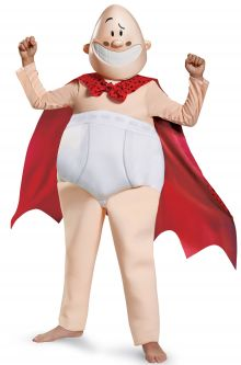 COVID-19-Appropriate costumes Captain Underpants Deluxe Child Costume