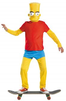 COVID-19-Appropriate costumes The Simpsons Bart Deluxe Child Costume