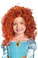 Disney Pixar Brave Merida Child Costume Wig