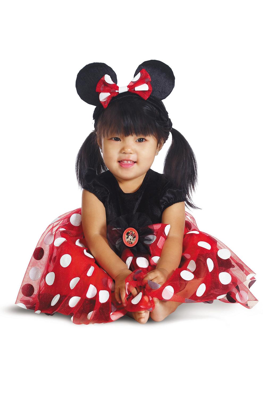 brand new disney red minnie mouse infant halloween costume ebay. Black Bedroom Furniture Sets. Home Design Ideas