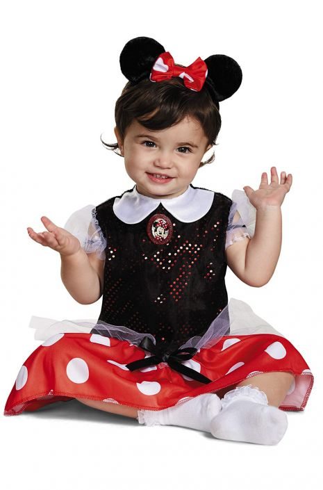 Mickey Mouse Clubhouse Minnie Mouse Toddler Costume  sc 1 st  Pure Costumes & Mickey Mouse Clubhouse Minnie Mouse Toddler Costume - PureCostumes.com