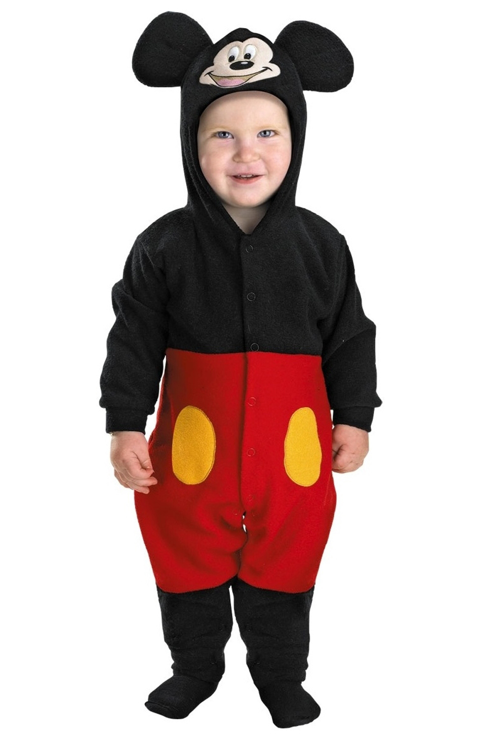 mickey mouse clubhouse disney mickey mouse toddler costume purecostumescom - Infant Mickey Mouse Halloween Costume