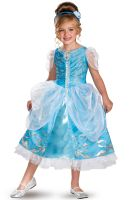Disney Princess Cinderella Sparkle Deluxe Child Costume