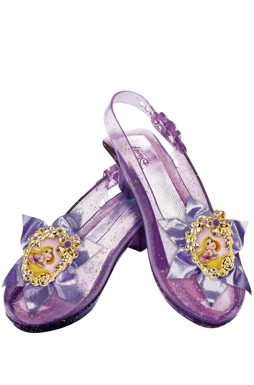 Disney Princess Rapunzel Sparkle Shoes Costume Accessory