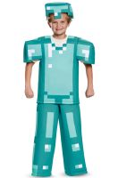 Minecraft Armor Prestige Child Costume