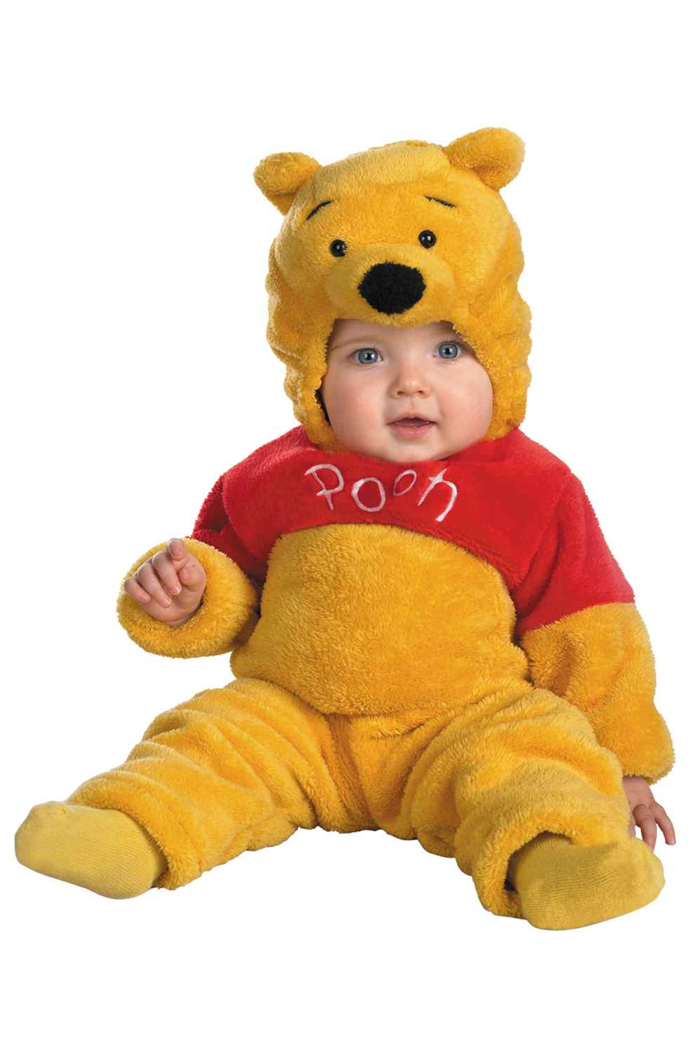 8b09ec4fd7a1 Disney Winnie The Pooh Deluxe Two-Sided Plush Jumpsuit Infant/Toddler  Costume - PureCostumes.com