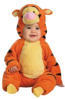 Disney Winnie The Pooh Tigger Deluxe Two-Sided Plush Jumpsuit Infant/Toddler Costume