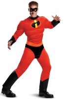 Mr. Incredible Classic Muscle Adult Costume