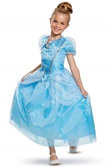 2018 Cinderella Deluxe Child Costume  sc 1 st  Pure Costumes & Cinderella Costumes - PureCostumes.com