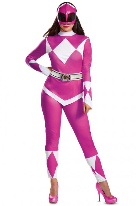 Pink Ranger Adult Costume  sc 1 st  Pure Costumes & Pink Ranger Adult Costume - PureCostumes.com