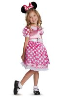Pink Minnie Mouse Light-Up Toddler Costume