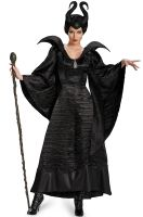 Maleficent Black Gown Deluxe Adult Costume