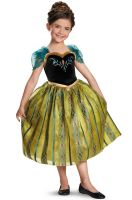 Anna Coronation Gown Deluxe Child Costume