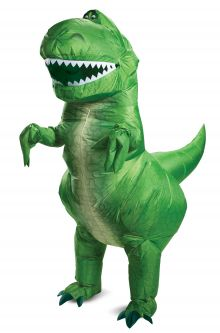 COVID-19-Appropriate costumes Rex Inflatable Adult Costume