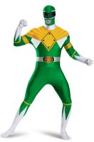 Mighty Morphin Green Ranger Bodysuit Tween/Adult Costume