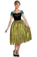 Anna Coronation Deluxe Adult Costume