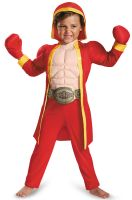 Little Fighter Muscle Toddler Costume