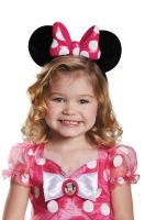 Pink Minnie Mouse Lite-Up Child Ears