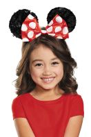 Red Minnie Mouse Sequin Child Ears