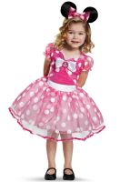 Pink Minnie Mouse Tutu Deluxe Toddler Costume