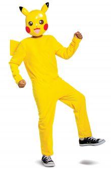 COVID-19-Appropriate costumes Pikachu Classic Child Costume
