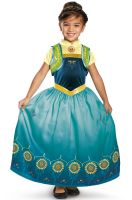 Deluxe Frozen Fever Anna Child Costume