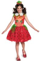 Strawberry Kiss Classic Child Costume