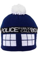Doctor Who TARDIS Pom Beanie Accessory