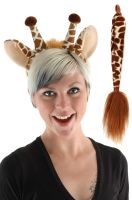 Giraffe Ears and Tail Accessory Kit