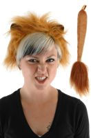 Lion Ears and Tail Accessory Kit