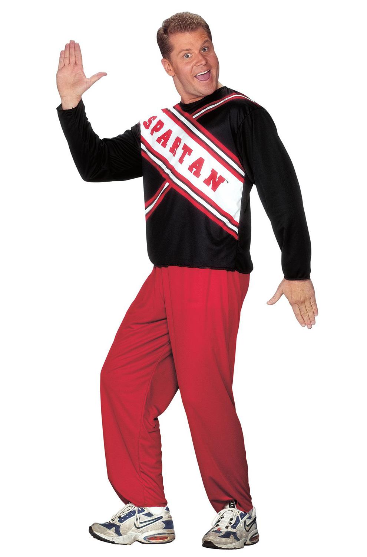 Saturday Night Live Male Spartan Cheerleader Adult Costume