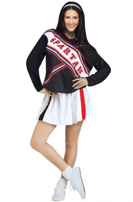 Saturday Night Live Female Spartan Cheerleader Adult Costume  sc 1 st  Pure Costumes & Saturday Night Live Female Spartan Cheerleader Adult Costume ...