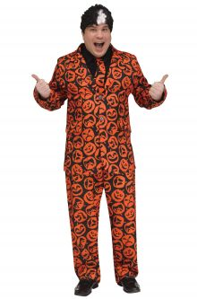 Great SNL David S. Pumpkins Plus Size Costume