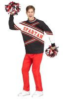 Deluxe Male Spartan Cheerleader Adult Costume