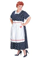 Plus Size I Love Lucy Polka Dot Dress Costume