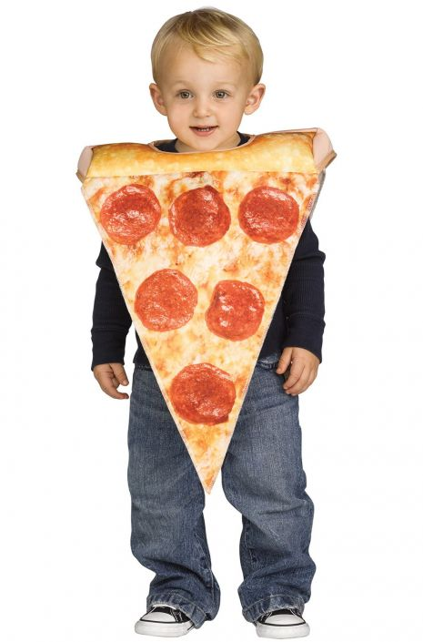Yummy Lil Pizza Slice Toddler Costume  sc 1 st  Pure Costumes & Yummy Lil Pizza Slice Toddler Costume - PureCostumes.com