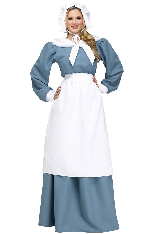Adult Pilgrim Costume 14