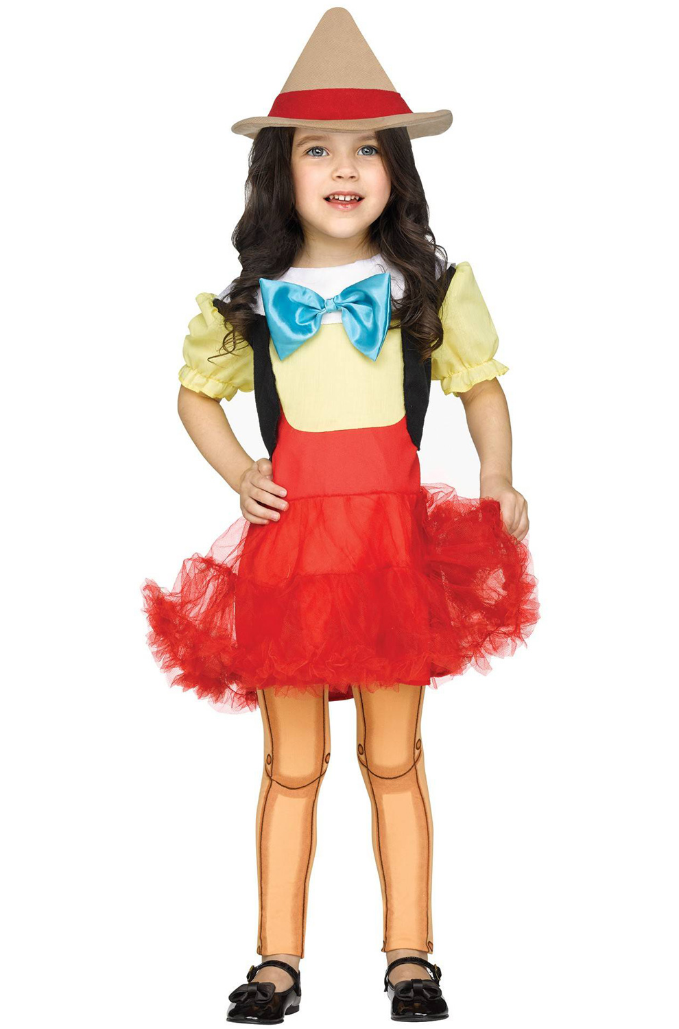 Wooden Girl Pinocchio Puppets Toddler Costume | eBay