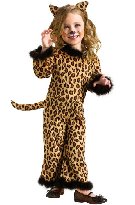 Pretty Leopard Toddler Costume  sc 1 st  Pure Costumes & Pretty Leopard Toddler Costume - PureCostumes.com