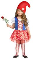 Gnome Girl Toddler Costume