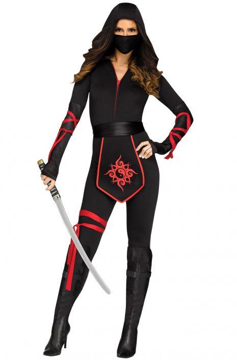 Sexy Ninja Warrior Adult Costume  sc 1 st  Pure Costumes & Sexy Ninja Warrior Adult Costume - PureCostumes.com