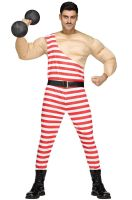 Carny Muscle Man Adult Costume