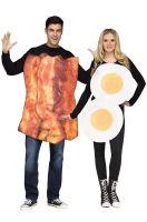 Bacon & Eggs Adult Costume (Pair)