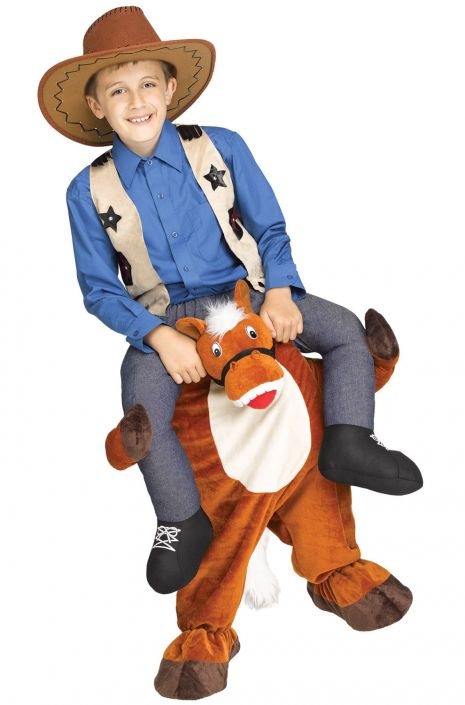Carry Me Horse Child Costume  sc 1 st  Pure Costumes & Carry Me Horse Child Costume - PureCostumes.com