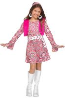 Shaggy Chic Child Costume (Pink)